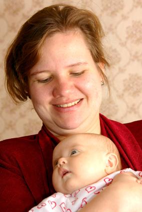 Анастасия Втулова - мама троих детей