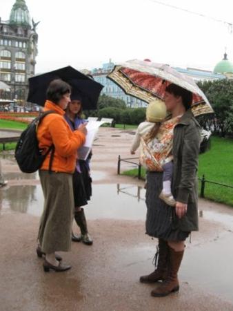 Отмечаем участниц флешмоба 2009 в СПб