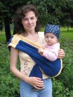 На бедре у мамы, слинг-карман