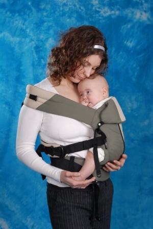 Эргономичный рюкзак: на бедре