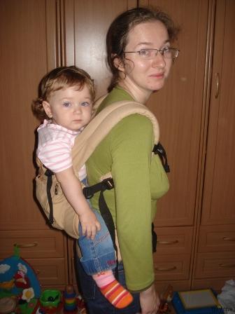 Эргономичный рюкзак: за спиной