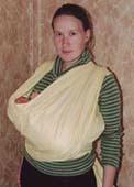 Слинг-шарф, Колыбелька