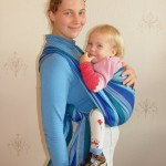 «Крест из восьмерки» — инструкция к слингу-шарфу