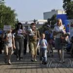 Шествие слингомам в Уфе, август 2008