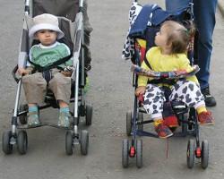 Вред коляски лицом от мамы