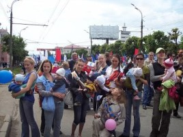 Парад в Ижевске 2008