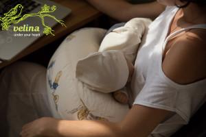 Подушка для кормления сделает кормление в положении сидя удовольствием