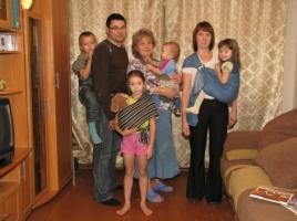 Победители конкурса «Слингосемья»