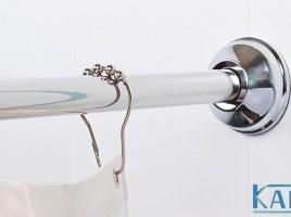 Карнизы для ванной – защита от влажности