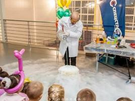 Весёлые и полезные научные шоу для детей
